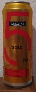 Baltika No. 5 Golden Pale Lager